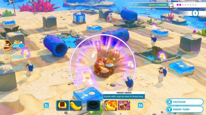 Mario + Rabbids: Kingdom Battle – Donkey Kong Adventure