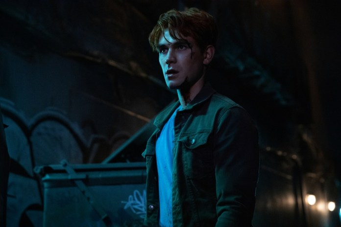 Archie ready to fight in the Riverdale night