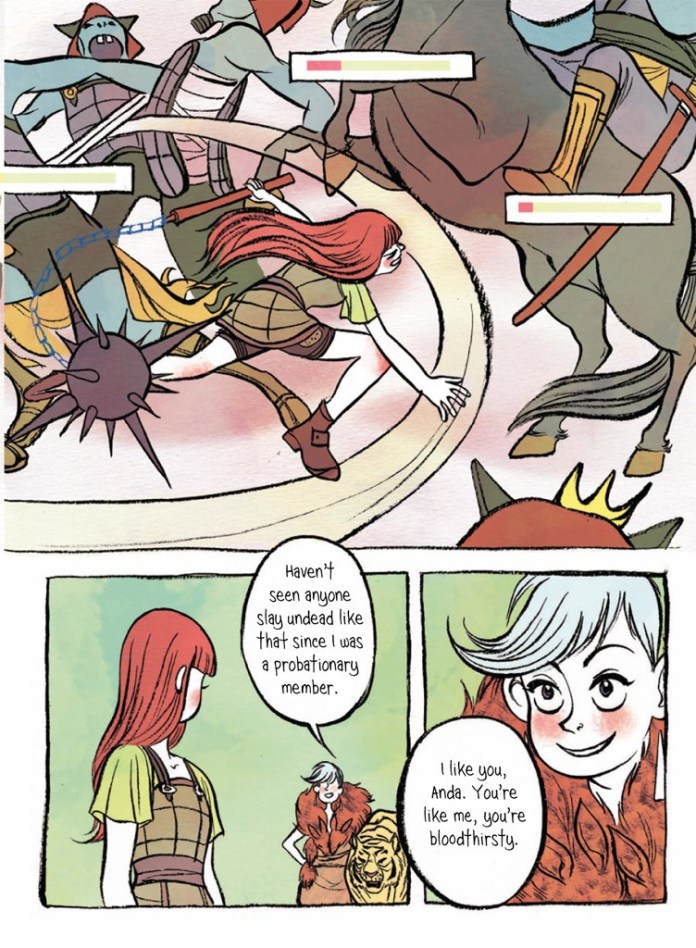 sample page from In Real Life