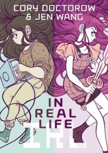 book cover of in real life