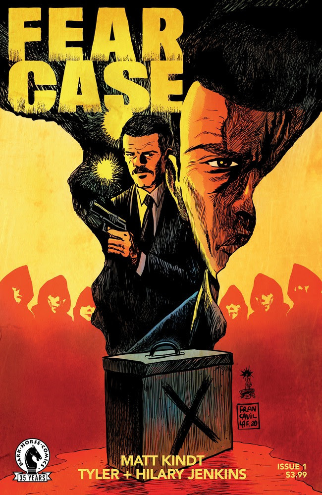 Fear Case #1 Cover B