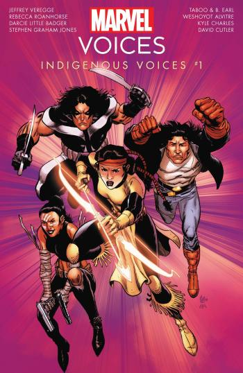 Marvel Voices: Indigenous Voices #1 Cover