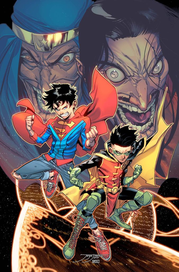 Challenge of the Super-Sons #1 Cover